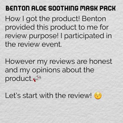 aloe soothing mask pack4