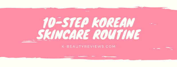 10-step Korean skincare routine