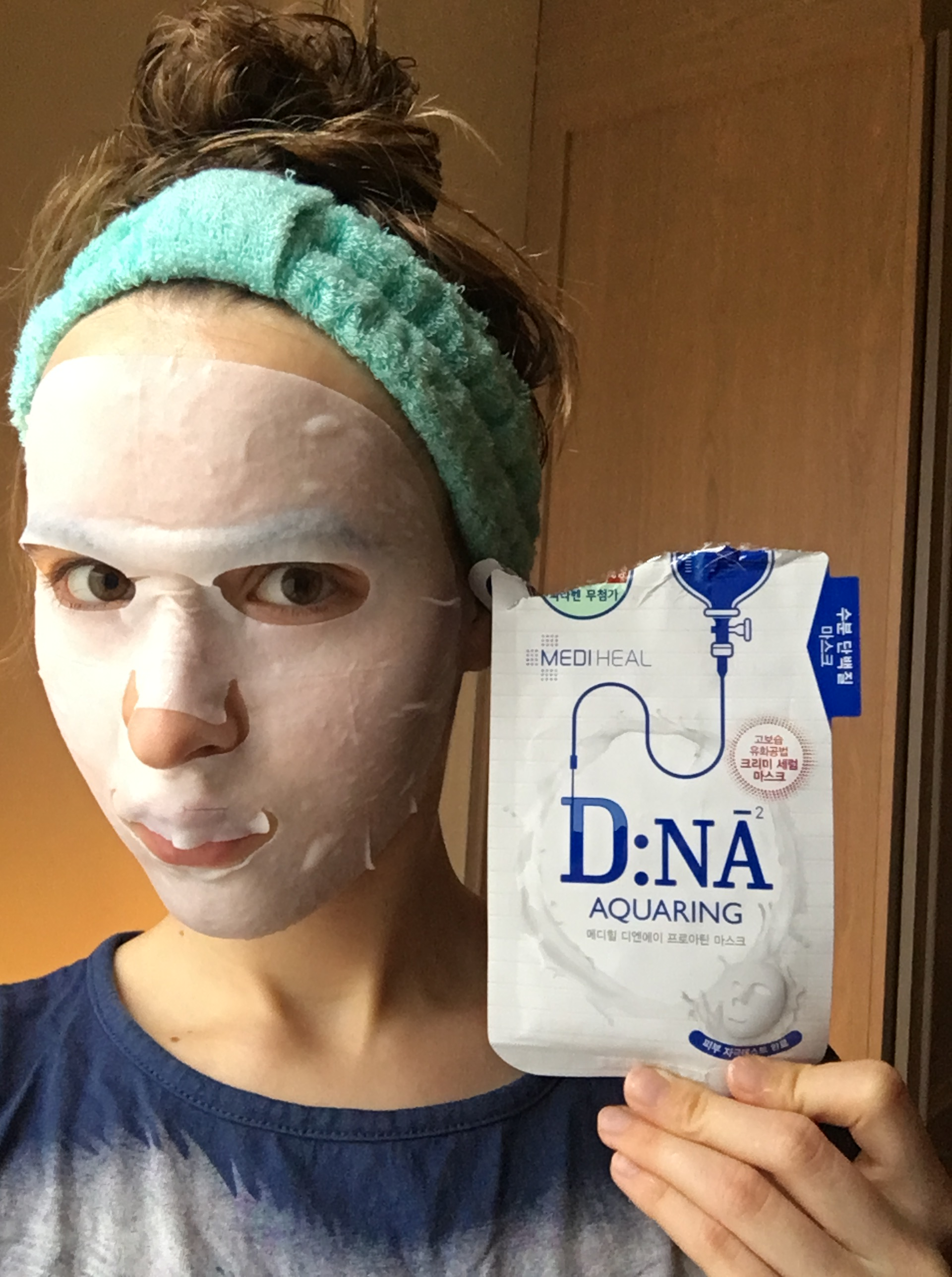 d.n.a hydrating protein mask